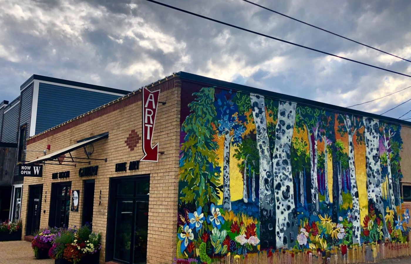 Downtown Steamboat Springs plays host to the monthly First Friday Artwalk