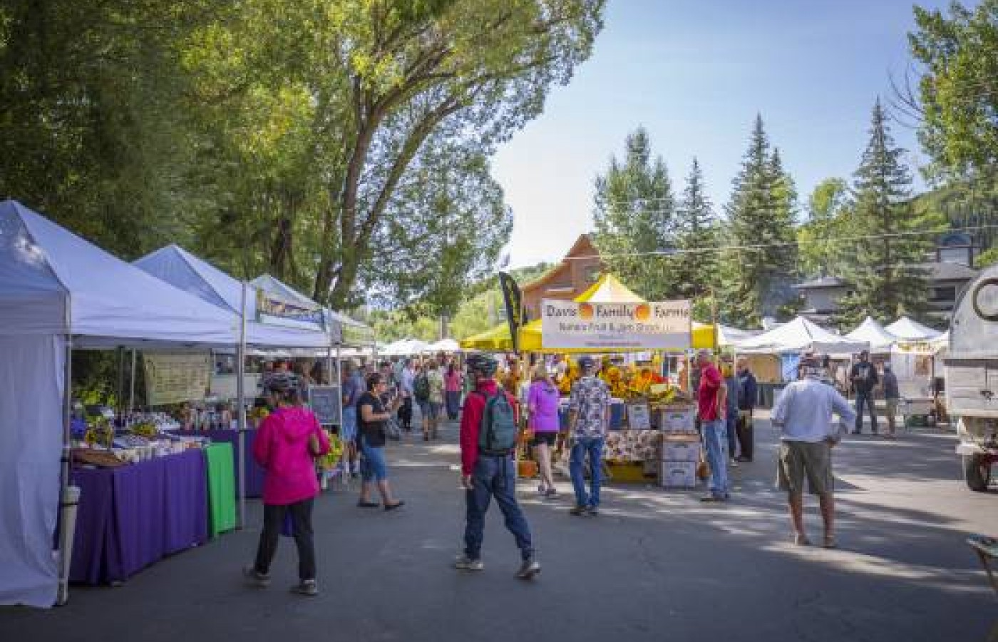 The Main Street Steamboat Farmers Market is scheduled to be held every Saturday from June 5-September 18, 2021.