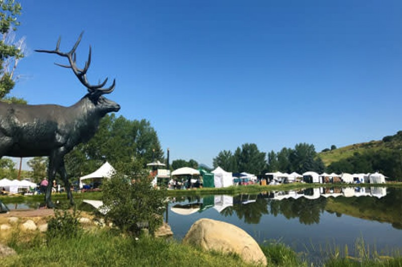 Steamboat Springs' Art in the Park will feature close to 150 artist vendors, live entertainers and food vendors, but the free event will be limited to 500 attendees in 2021.