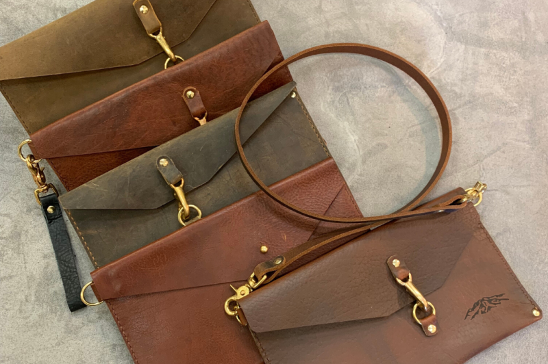 Learn more about and purchase durable leather goods produced in the Rocky Mountains at One Steamboat Place's Coleman's Haberdashery Trunk Show